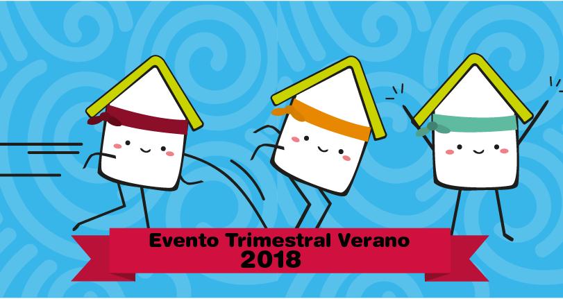 Evento Trimestral verano 2018